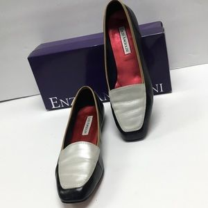 two tone loafer by Enzo Angiolini